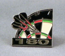 Metal Enamel Pin Badge Brooch Darts Dart Arrows Dartboard 180 Throw High Score