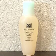 ESTEE LAUDER CLEAN FINISH PURIFYING TONER NORMAL/DRY SKIN 1oz/30ml TRAVEL SIZE