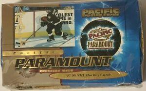 1997-98 Pacific Paramount Retail Hockey Box Factory Sealed 36 Pack HTF