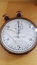 Heuer semikrograph Chronomètre pocket watch chronomètre vintage pat. 73392/93 RARE