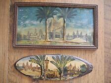 EXPOSITION COLONIALE - PARIS 1931 - SOUVENIRS (LOT DE 2)