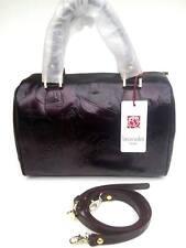 Handbags borsa BRACCIALINI bauletto prima linea prod. 2016  pelle col.Nero Fuxia
