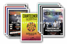 COURTEENERS - 10 promotional posters  collectable postcard set # 1