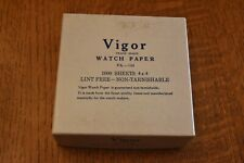 Vigor Watch Papers watch repair vintage nearly full box of