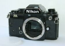 Nikon FA Black 35mm SLR Film Camera Body Only. Tested. Free Warranty.