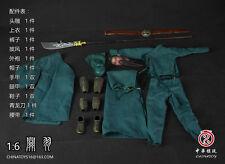 """China Toys Guan Yu Three Kingdoms Guan Yunchang Suit  1/6Scale 12"""" Action Figure"""