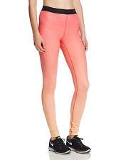 NEW Nike Pro Hyperwarm Fade Leggings-Peach Cream/Ember Glow-Size M
