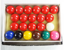 "2-1/16"" Inch Deluxe American Snooker Ball Set Complete 22 Billiard Pool Ball Set"