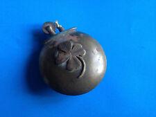 Ancien Briquet WW2 Décoration Trèfle Laiton / Antique Lighter