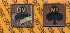 MP Co 327th Infantry 101st Airborne HCI Helmet Cover patch B m/e OD Green/Black