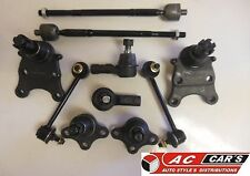 Suspension & Steering Kit Tie Rod Ends Ball Joints Sway Bar Links Fits Isuzu