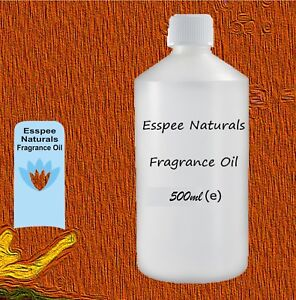 Fragrance Oils - 500 ml - Best Quality for Candles, Diffusers, Oil Burners etc.