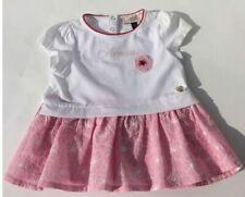 Mini Mädchen Kleid Tunika mit Sternen und Streifen in mokka BOBOLI Baby