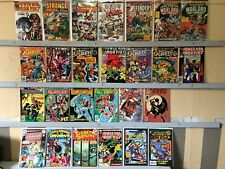 Lot of 26 Marvel Dc Bronze Age Comics justice power defenders fist warlord Ff4