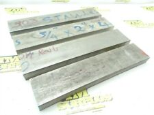 """New listing 18Lb 303 Stainless Steel Bar Stock 3/4"""" Thickness 9-1/2"""" To 10"""" Lengths"""
