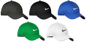 Nike Dri-FIT Swoosh Front Men's Adjustable Strapback Dad Cap Authentic Hat Golf
