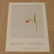 JEAN RUITER PHOTOGRAPHY poster manifesto affiche Verkerke Gallery Tulip B93
