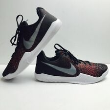 477270b865b3 Nike Kobe Bryant Mamba Instinct Low Black Grey Red 852473-006 Mens Size