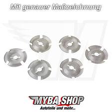 20x Clips Schutz Befestigung Kunststoff Scheibe für Peugeot Citroen 703017
