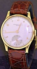 Audemars Piguet vintage 18K gold elegant mechanical men's watch