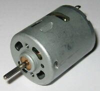 RS-365 Hobby Motor - 12 VDC - 5700 RPM - Massager Motor with Knurled Shaft