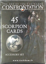 Confrontation 45 Scorpion Cards Accessory Set NEW!