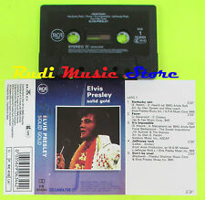 MC ELVIS PRESLEY Solid gold italy RCA LINEATRE CK 90434 cd lp dvd vhs