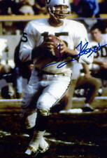 1- TOM FLORES OAKLAND RAIDERS 8X10 PRINT AUTO PHOTO