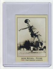 Jackie Mitchell, Chattanooga girl pitcher who struck out Babe Ruth & Lou Gehrig