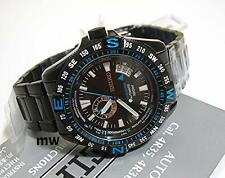 SEIKO 5 Mechanical LIMITED EDITION Men's Watch Black Blue SSA115J1 made in Japan