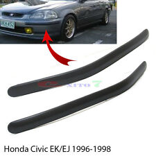 New Front Bumper Molding Impact Pad Trim 1996-1998 EK9 EK4 EK3 Honda Civic EK EJ