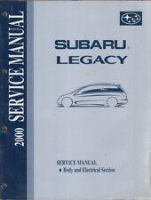 SUBARU Legacy 2.0 & 2.5 L ORIG. 2000 FACTORY Carrozzeria & sistema elettrico manuale