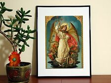 St Michael Archangel Protector - A4 Poster - FREE Shipping
