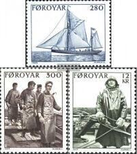 Danemark-Îles Féroé 103-105 (édition complète) neuf 1984 pêche