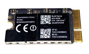 Apple AirPort Bluetooth 607-0009 MacBook Air A1369 A1370 A1466 2010 2011 2012