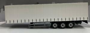 Curtain Side Transport Trailer - 1:50 Scale