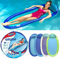 SwimWays Spring Float Original Swimming Pool Lounger - colours may vary 6045237