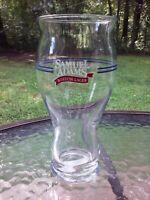 Vtg Sam Samuel Adams Boston Lager Nucleation Point 16 Oz Pint Beer Bar Glass
