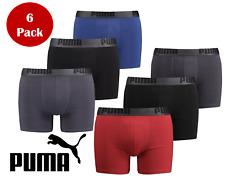 NEW 6 Pack Men's PUMA Performance Boxer Briefs -  100% PUMA Manufactured