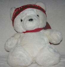 Original First Dayton Hudson Marshall Field Santabear Santa Teddy Bear Xmas Toy