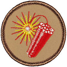 Really Hot Boy Scout Patches - Dynamite Patrol! (#046)