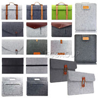 "For Apple iPad Pro 12.9"" Tablet 2017 Woolen Sleeve Pouch Bag Carry Case Cover"