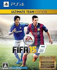 Used PS4 FIFA 15 ULTIMATE  SONY PLAYSTATION 4  JAPAN  JAPANESE JAPONAIS IMPORT