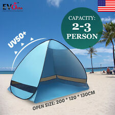Outdoor 2 Person 4Season Camping Hiking Waterproof Layer Folding Tent Pop Up US