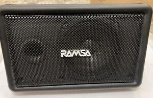 Ramsa panasonic WS-A10-K speaker single
