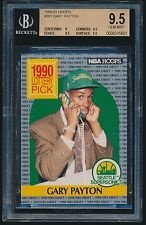 1990-91 Hoops rookie #391 Gary Payton rc BGS 9.5 Gem Mint