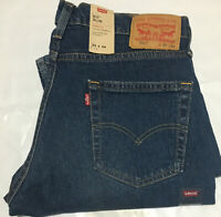 NWT MEN'S LEVI'S 511 2983 SLIM SITS BELOW WAIST STRETCH JEANS D. BLUE PANT