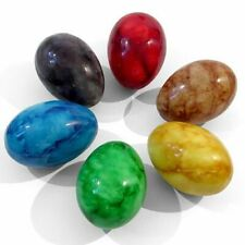 Natural Musical Instruments ** Set of 6 Tie Dye Egg Shakers **