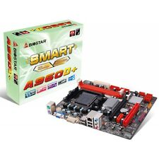 BIOSTAR a960d + AMD Micro ATX Scheda madre AM3 + AMD FX 4300 CPU + VENTOLA + 4 GB DDR3