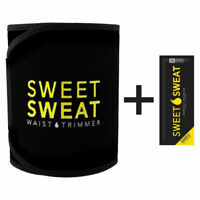Sweet Sweat Premium Waist Trimmer for Men & Women by Sports Research Yellow M
